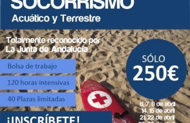 CURSO SOCORRISMO ACUATICO TERRESTRE