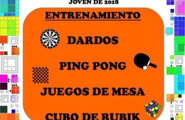 I CHANQUETE OCIO JOVEN 2018