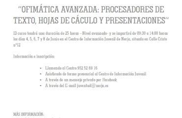 CURSO OFIMATICA AVANZADA
