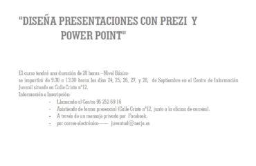 DISEÑA PRESENTACIONES CON PREZI Y POWERPOINT