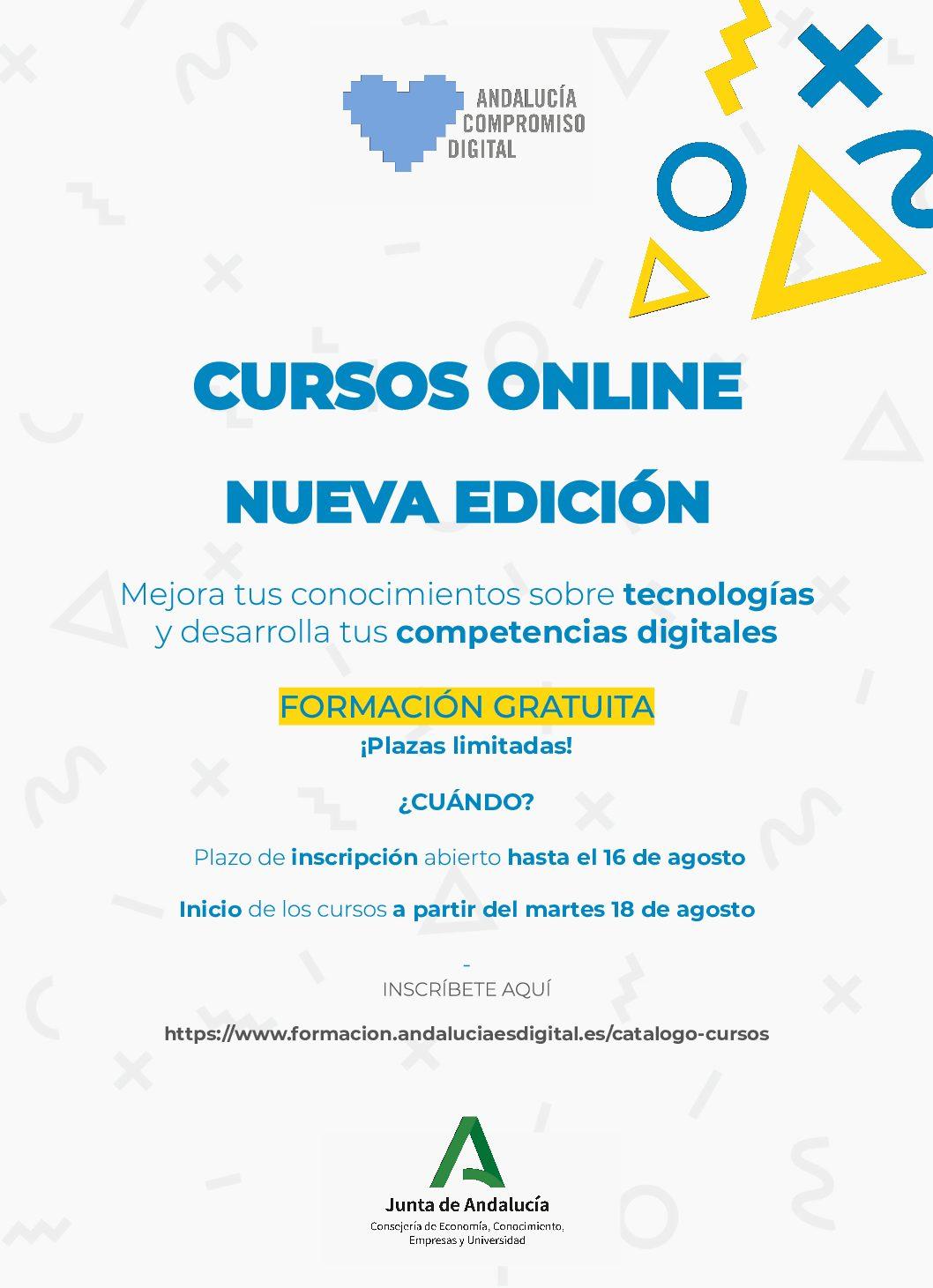 Nuevos Cursos Online Gratuitos